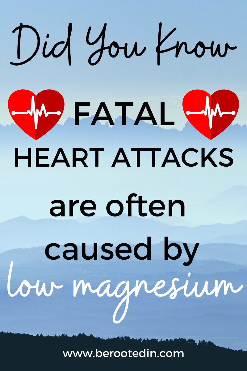 heart attack, heart attacks, magnesium, magnesium for cramps, magnesium chloride, magnesium therapy, topical, transdermal